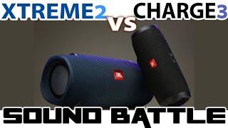JBL XTREME 2 VS CHARGE 3 :Sound Battle