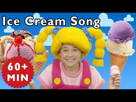 Ice Cream Song and More | Nursery Rhymes...