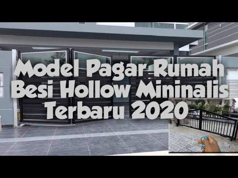 Model Pagar Rumah Minimalis Terbaru 2020 Youtube