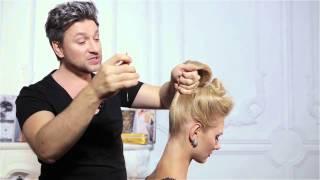 Новый урок от Руслана Татьянина! Как собрать волосы в высокий тугой и
