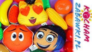 Emotki Film • Warzywa i Owoce • Little Life Piramida Żywieniowa & Happy Meal McDonalds • Bajki