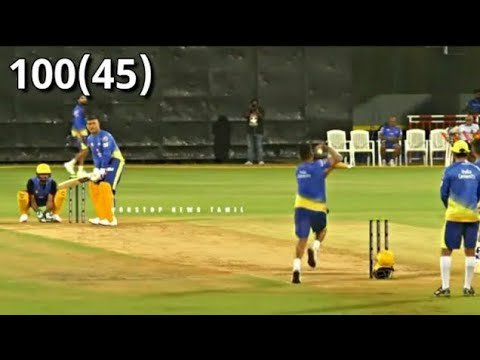 Download MSDhoni Scores 100 of 45 balls  Full Batting Highlight | Great Partnership between Dhoni and Raina