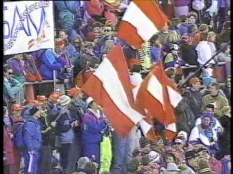 1992 Winter Olympics - Team Ski Jump