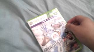Unboxing - Madden NFL 13 - Xbox 360