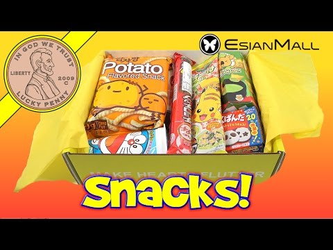EsianMall Premium Monthly Candy & Snacks Subscription Box