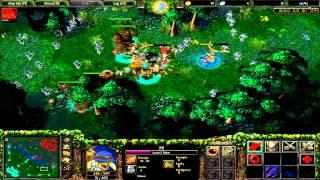 Dota - Tinker farming neutrals lvl 1