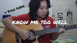 [free tabs] Know Me Too Well - New Hope Club (Fingerstyle guitar cover)