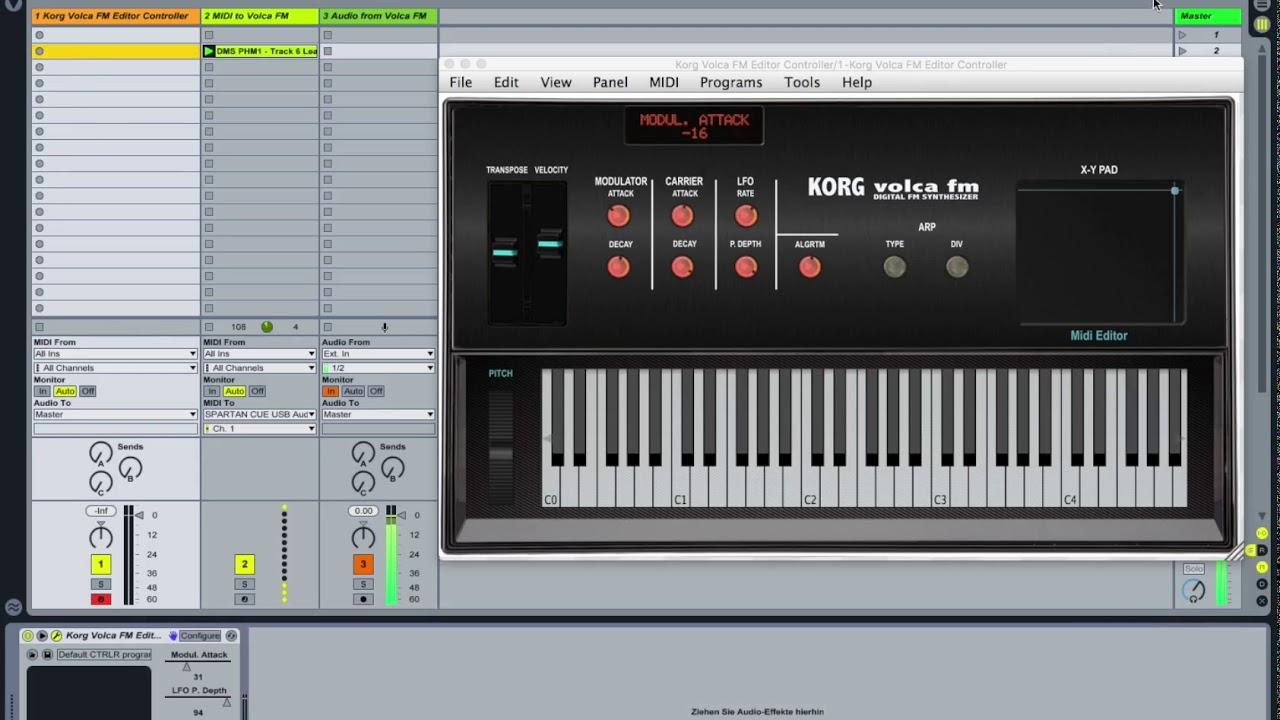 Korg Volca FM Editor/Controller