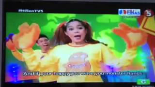hi5 philippines song of the week monster dance