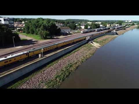 Mankato  Passenger Train (George H. W. Bush Funeral Car)