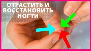 Длинные и крепкие ногти за одну неделю Как отрастить и восстановить ногти дома