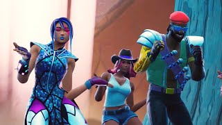 Major Lazer - Que Calor (feat. J Balvin & El Alfa) (WiziBlimp Fortnite Music Video)