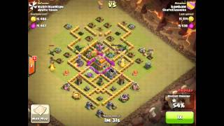Clash of clans gameplay skate clashers clan