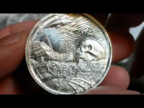 Double Silver Unboxing - SD Bullion and Caveman Silver Stacker. Davy Jones Privateer 7 & a trade.