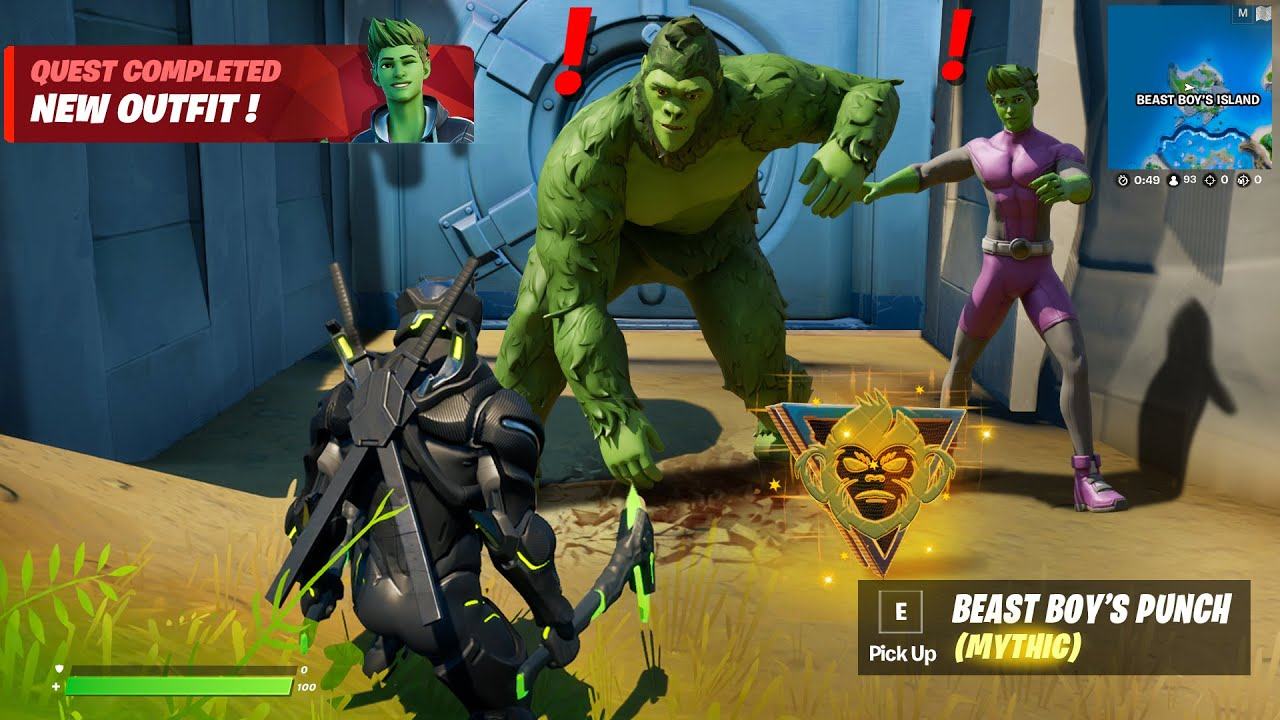 Download NEW FORTNITE UPDATE (Boss Beast Boy & Mythic Weapons)