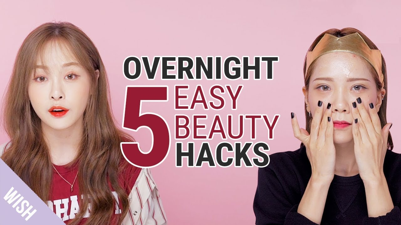 5 Night Beauty Hacks | Ultimate Pre Bedtime Routine | Wishtrend TV