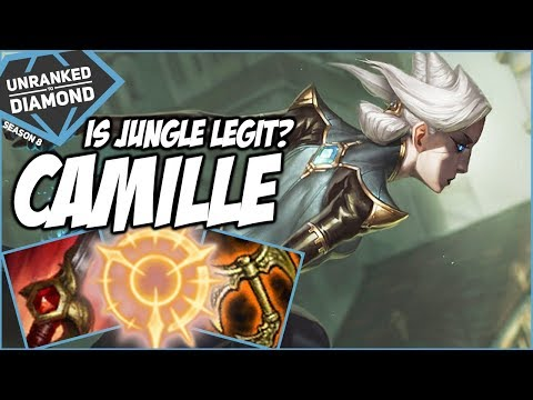 IS CAMILLE JUNGLE LEGIT? - Unranked to Diamond - Ep. 91 | League of Legends