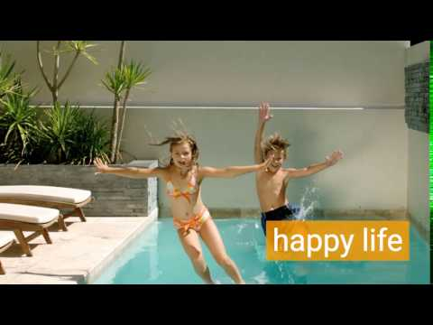 Happy Kids, Happy Life - With a Presidential Pool.