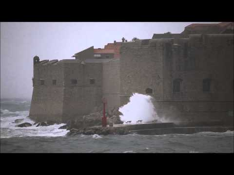 Dubrovnik wind storm
