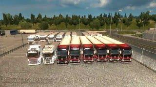 Euro Truck Simulator 2 - Конвой - Почта России,GoodWay,TransWorks