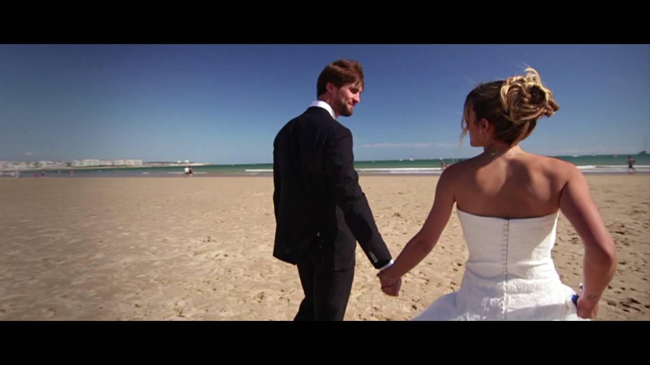 mariage aux sables dolonne mathilde adrien teaser destination wedding camraman toulouse - Videaste Mariage Toulouse