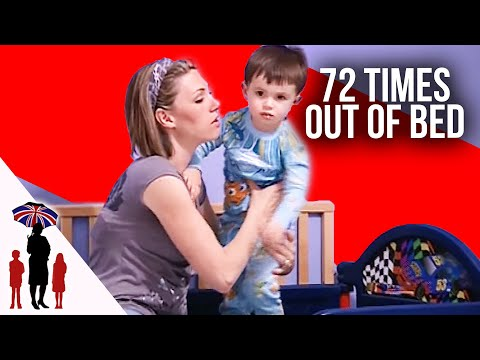 Child Gets Out Of Bed 72 Times   Supernanny