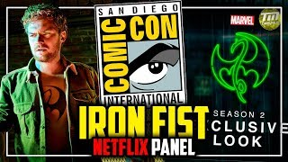 Netflix Iron Fist Panel - San Diego Comic-Con 2018 - Directo [#SDCC #SDCC2018]