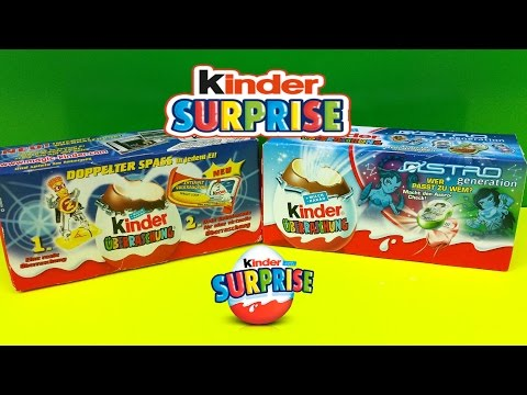 Kinder Surprise Eggs Astro Generation Old Edition Toy 2003-2006