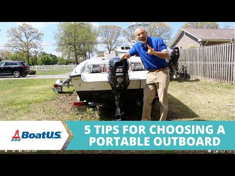 How To Choose the Right Small Outboard Motor | BoatUS