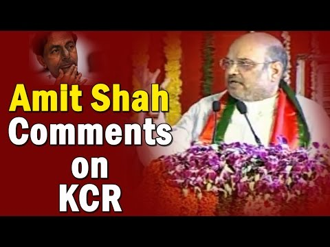Amit Shah Sensational Comments On CM KCR || BJP Bahiranga Sabha || Warangal || NTV