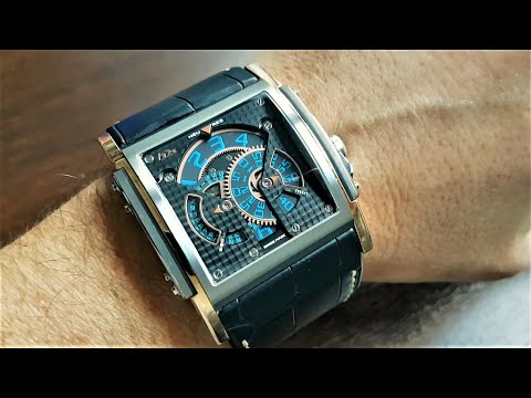 HD3 Complication Watch Reviev Three Minds Titan Rose Gold