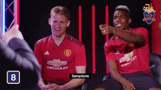 Mastermind Challenge with Paul Pogba and Scott McTominay