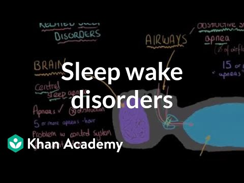 Sleep wake disorders breathing related sleep disorders | Behavior | MCAT | Khan Academy