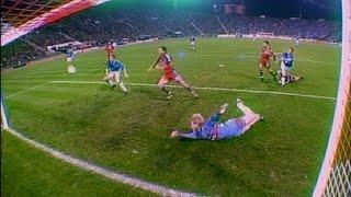 Kahn Weltklasse Reflex gegen Glasgow Rangers | 1999/2000