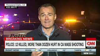 Thousand Oaks California Mass shooting at a bar | Latest CNN News | Stay Alert News Network