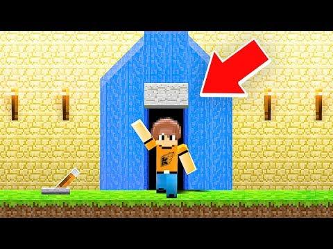 Building A SECRET WATERFALL BASE in Minecraft (My Friends Had No Idea!)