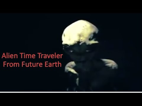 Interview With An Alien Time Traveler From Future Earth