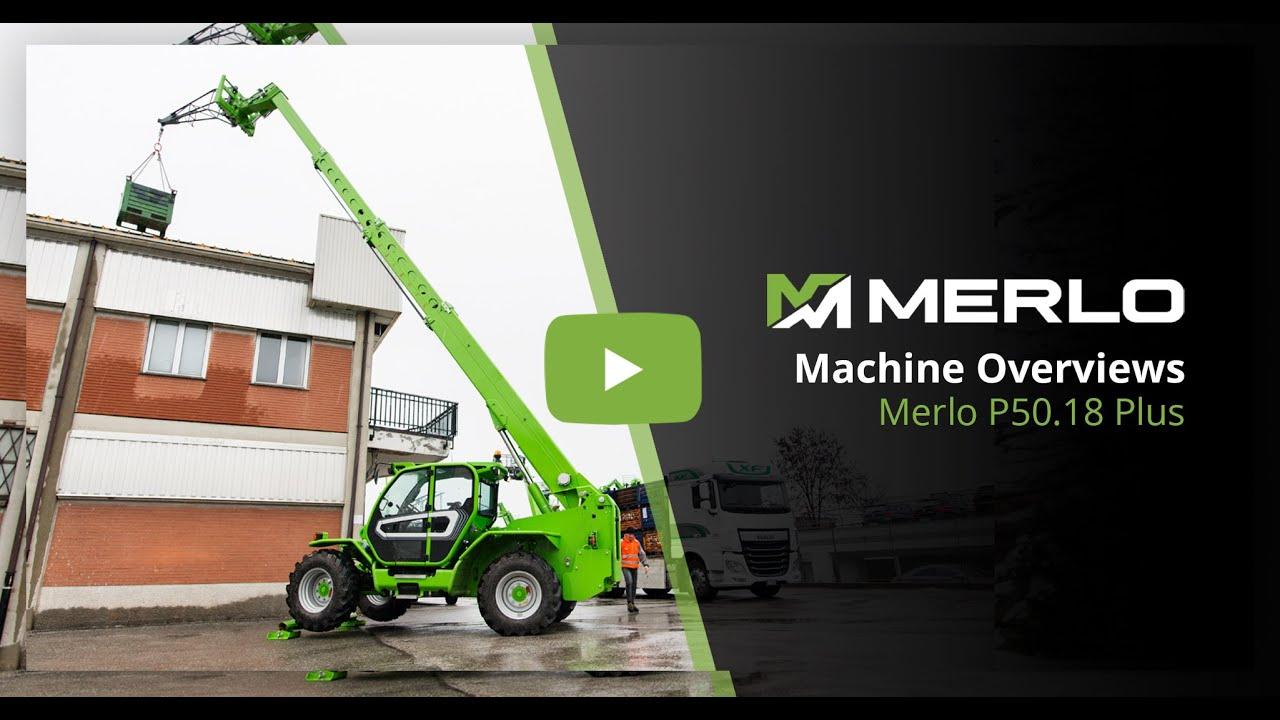 Merlo P50.18 PLUS - Telehandler Built for Performance