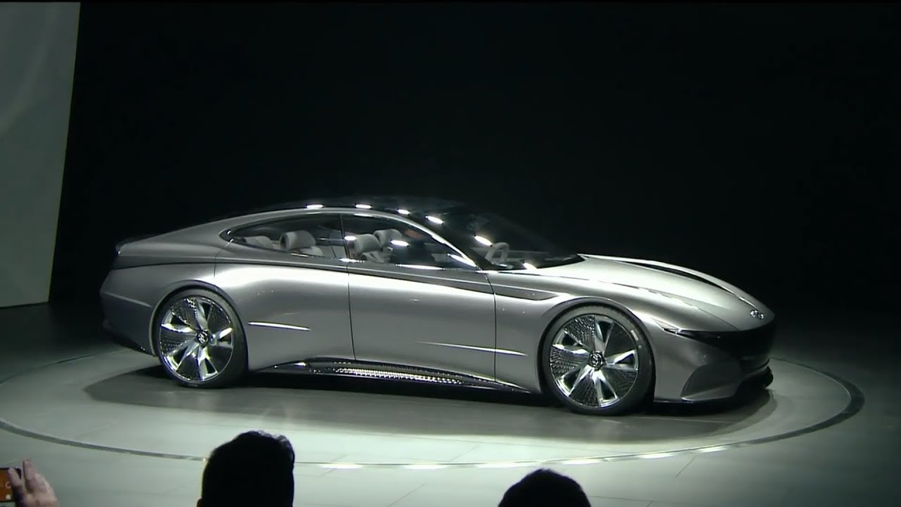 Hyundai Le Fil Rouge Concept Revealed At The 2018 Geneva Motor Show Youtube 2018 hyundai le fil rouge 4k 2
