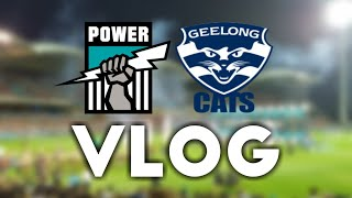 Port Adelaide Vs Geelong - ANZAC Round 2018 - VLOG