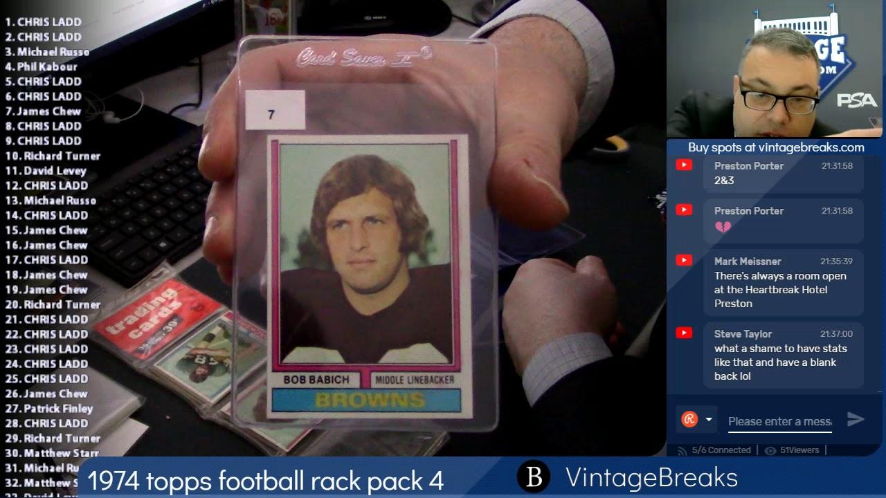 Download 01-25-2019 1974 Topps Football Rack Pack 4