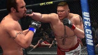 UFC Undisputed 2010 - Brock Lesnar vs Mirko Cro Cop (PC)