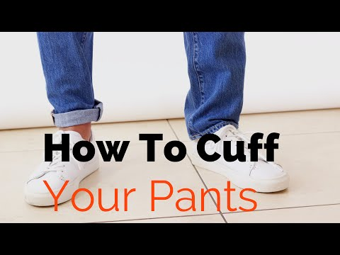 How to Cuff Your Jeans | How to do The Pin Roll | A Guide to Rolling up your Trousers