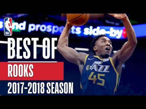 Best Rookie Plays of the 2017-2018 NBA Regular Season