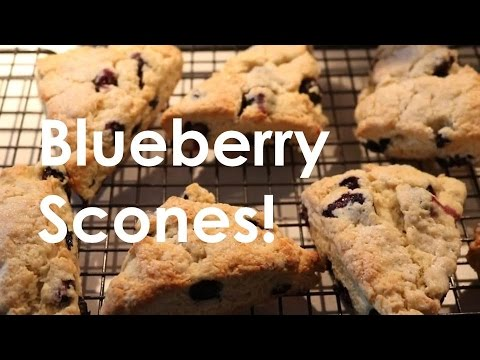 BEST BLUEBERRY SCONES!