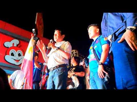 Event: Duterte-Cayetano Pampanga Grand Rally -  Rodrigo Duterte