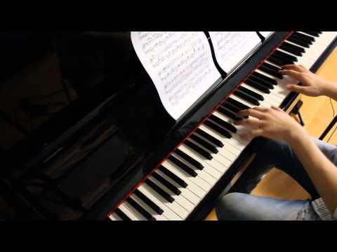 Maoyuu Maou Yuusha OP Piano - Mukai Kaze