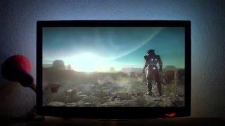 Adalight + Ambibox 16x9 LEDs - Mass Effect Andromeda teaser
