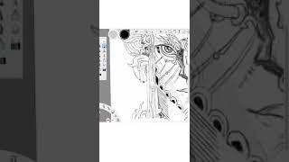 Shiva Skizze mit Einem Wacom-Stift tablet