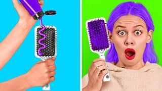 حيل شعر رائعة ستوفر عليك الكثير من الوقت || أفكار ونصائح لتسريحات شعر مذهلة